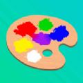 混合和油漆