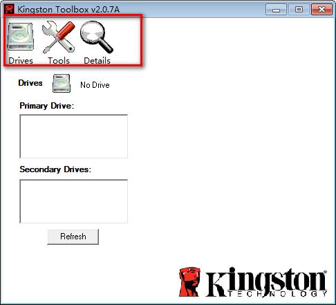 金士顿固态硬盘优化工具(Kingston Toolbox) v2.0.7绿色版
