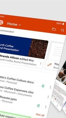 Microsoft Office Mobile截图2