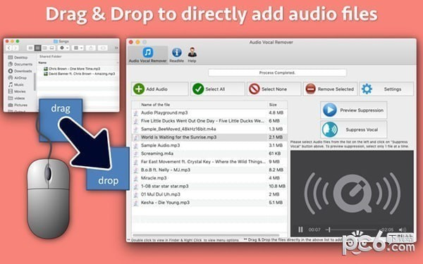 Audio Vocal Remover Mac版