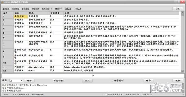 Leu9981隐私和保密自查工具