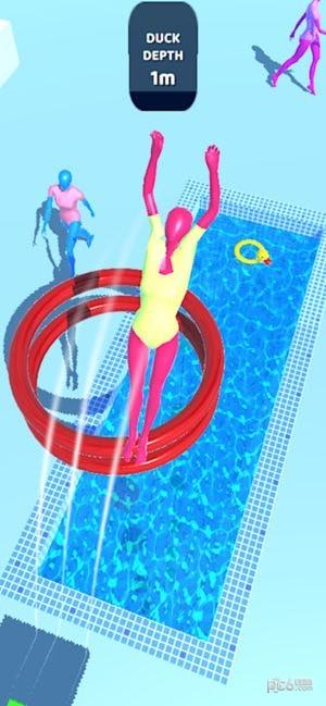 紫色跳水员游戏下载