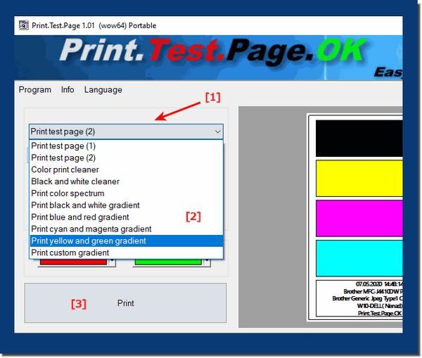 打印机测试工具