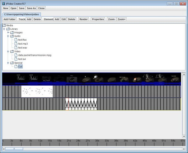 jfVideo Creator(视频编辑处理工具)