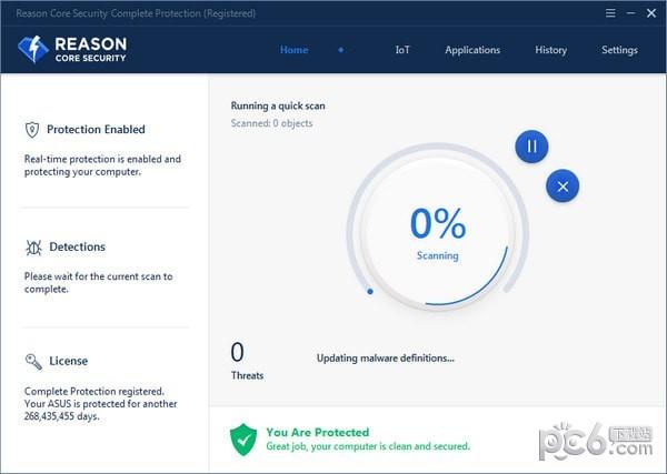 Reason Core Security(恶意软件删除工具)