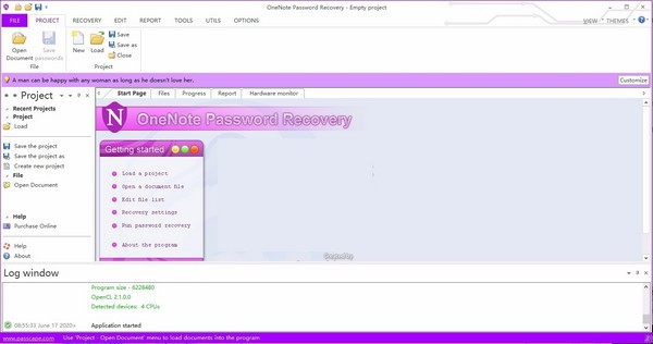 OneNote Password Recovery(密码恢复软件)