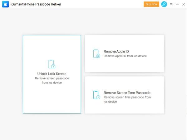 iSumsoft iPhone Passcode Refixer