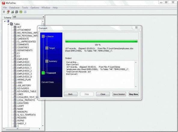 XlsToOra(Excel导入Oracle工具)