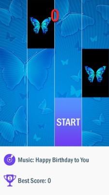 蓝蝴蝶钢琴块截图1