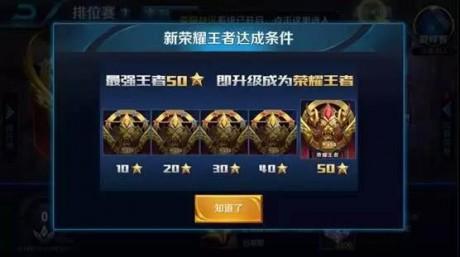 王者荣耀段位排列段位排列 王者荣耀段位排列每个段位多少星